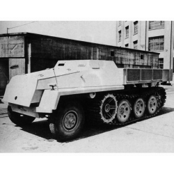 Ironside 023 S.W.S. ARMORED ARTILLERY TRACTOR