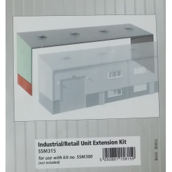 WILLS-MODERN SMM 300 Industrial / retail unit, scale HO
