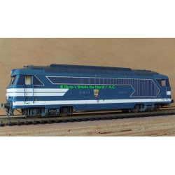 Jouef HJ 2328 Diesel locomotive BB67455, scale HO