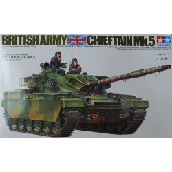 Tamiya 35068 British Army Chieftain Mk.5, 1/35