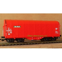 Roco 54931 Car covered for the transport of Coils, scale HO
