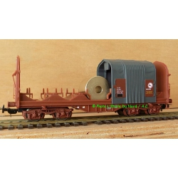 Roco 95962 Car covered for the transport of Coils of SNCF, scale HO