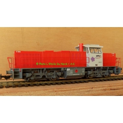 Piko 97719 Diesel locomotive BB61747 VFLI, scale HO, DC