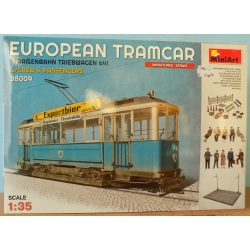 MiniArt 38009 European tramcar, scale 1/35