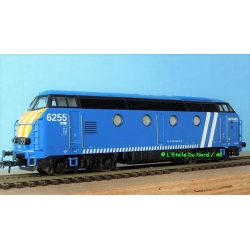 Roco 72879 Diesel locomotive type 62 INFRABEL, scale HO, DC