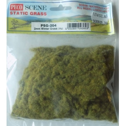 Peco PSG-204 Herbes, Winter Grass, 2mm, 30gr.