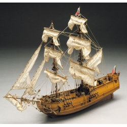 Mantua Model 769 Kit Boat wood, HERMIONE, scale 1/89