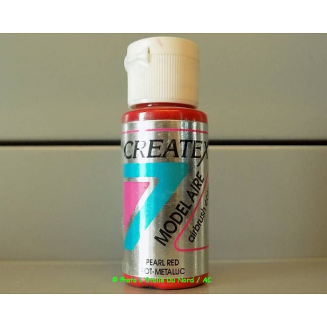 Peinture Acrylique Pearl Red 28 Ml