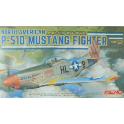 Meng LS-006 North American P-51D Mustang Fighter, échelle 1/48.