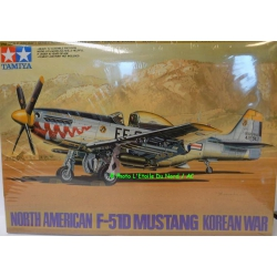 Tamiya 61044-2500 North American P-51D Mustang Korean War, 1/48.