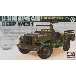 AFV AF 35S15 U.S. 3/4 Ton Weapons Carrier BEEP WC51, scale 1/35