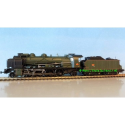 REE MB-054 Steam locomotive type 141 4-144F369 of SNCF, DC. Scale HO.