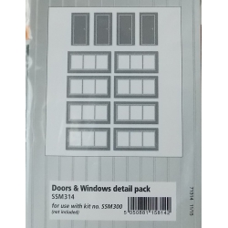 WILLS-MODERN SMM 314 Out of town retail unit frontage kit
