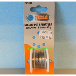 PGM PGT285 Tin soldering wire with flux core, 60Sn/40Pb.